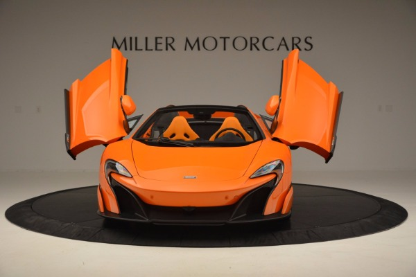 Used 2016 McLaren 675LT Spider Convertible for sale Sold at Bentley Greenwich in Greenwich CT 06830 13