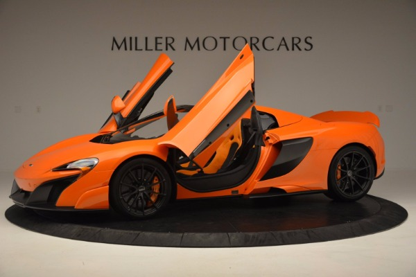 Used 2016 McLaren 675LT Spider Convertible for sale Sold at Bentley Greenwich in Greenwich CT 06830 14