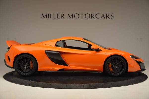 Used 2016 McLaren 675LT Spider Convertible for sale Sold at Bentley Greenwich in Greenwich CT 06830 19