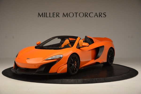 Used 2016 McLaren 675LT Spider Convertible for sale Sold at Bentley Greenwich in Greenwich CT 06830 2