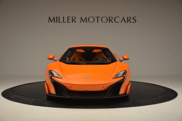 Used 2016 McLaren 675LT Spider Convertible for sale Sold at Bentley Greenwich in Greenwich CT 06830 21