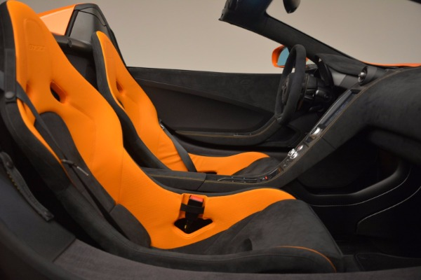 Used 2016 McLaren 675LT Spider Convertible for sale Sold at Bentley Greenwich in Greenwich CT 06830 26