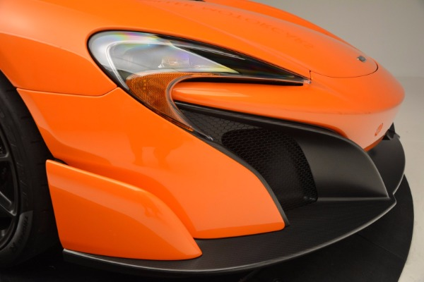 Used 2016 McLaren 675LT Spider Convertible for sale Sold at Bentley Greenwich in Greenwich CT 06830 28