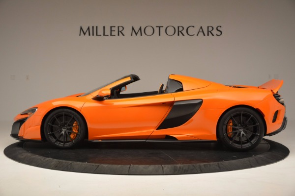 Used 2016 McLaren 675LT Spider Convertible for sale Sold at Bentley Greenwich in Greenwich CT 06830 3
