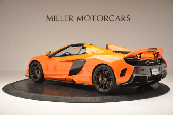 Used 2016 McLaren 675LT Spider Convertible for sale Sold at Bentley Greenwich in Greenwich CT 06830 4