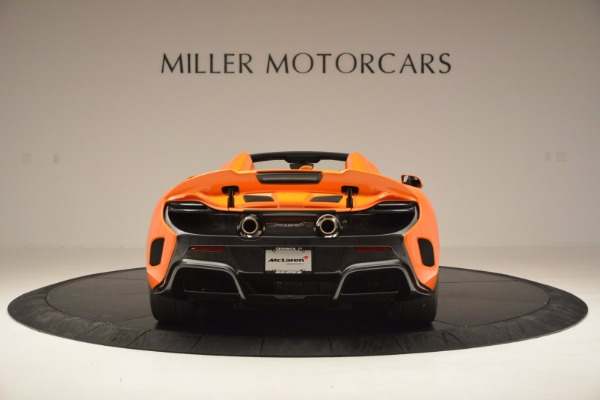 Used 2016 McLaren 675LT Spider Convertible for sale Sold at Bentley Greenwich in Greenwich CT 06830 6