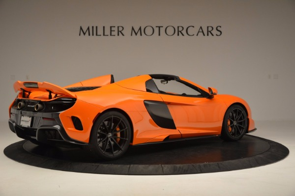 Used 2016 McLaren 675LT Spider Convertible for sale Sold at Bentley Greenwich in Greenwich CT 06830 8