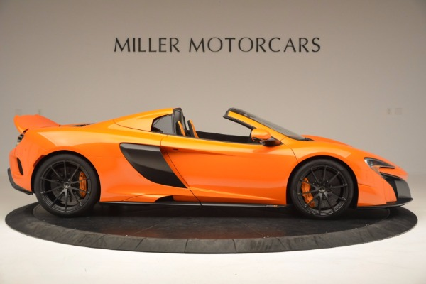 Used 2016 McLaren 675LT Spider Convertible for sale Sold at Bentley Greenwich in Greenwich CT 06830 9