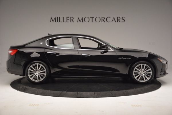 Used 2017 Maserati Ghibli SQ4 S Q4 Ex-Loaner for sale Sold at Bentley Greenwich in Greenwich CT 06830 9