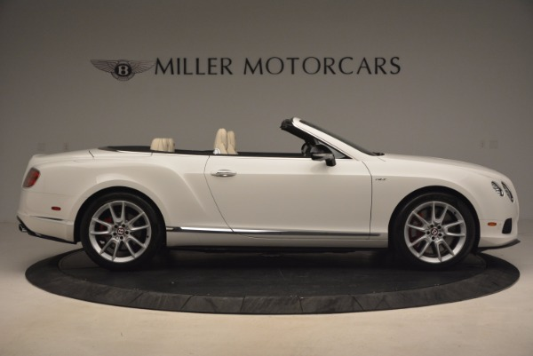 Used 2015 Bentley Continental GT V8 S for sale Sold at Bentley Greenwich in Greenwich CT 06830 9
