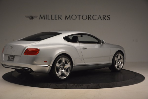 Used 2012 Bentley Continental GT for sale Sold at Bentley Greenwich in Greenwich CT 06830 8