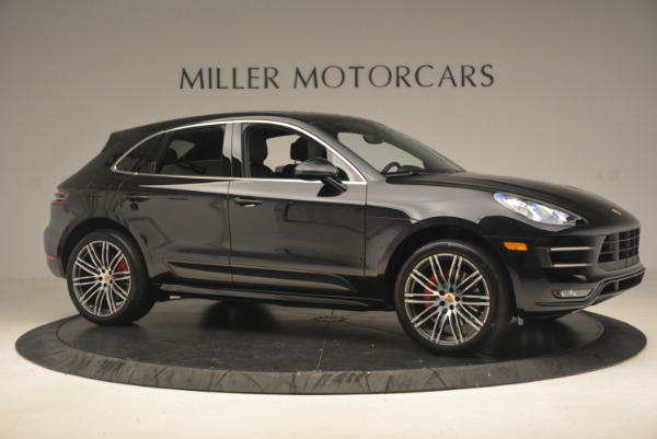 Used 2016 Porsche Macan Turbo for sale Sold at Bentley Greenwich in Greenwich CT 06830 10