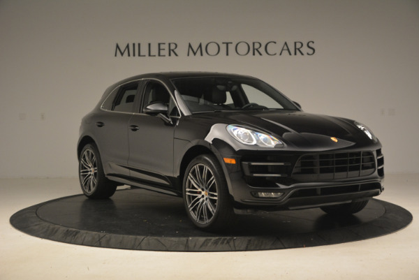 Used 2016 Porsche Macan Turbo for sale Sold at Bentley Greenwich in Greenwich CT 06830 11