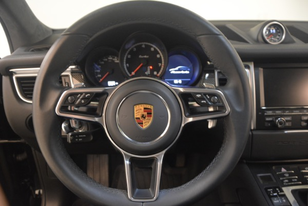 Used 2016 Porsche Macan Turbo for sale Sold at Bentley Greenwich in Greenwich CT 06830 18