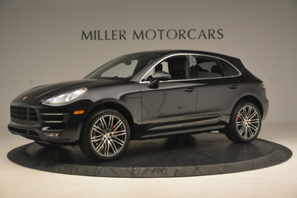 Used 2016 Porsche Macan Turbo for sale Sold at Bentley Greenwich in Greenwich CT 06830 2