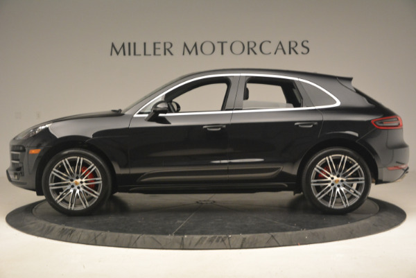 Used 2016 Porsche Macan Turbo for sale Sold at Bentley Greenwich in Greenwich CT 06830 3