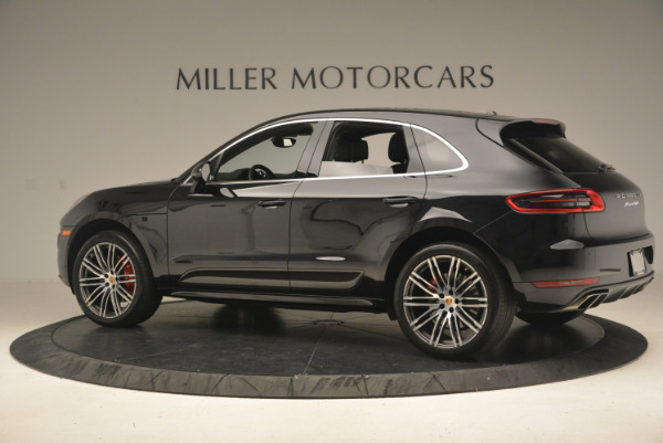 Used 2016 Porsche Macan Turbo for sale Sold at Bentley Greenwich in Greenwich CT 06830 4