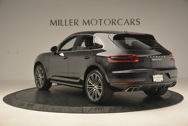 Used 2016 Porsche Macan Turbo for sale Sold at Bentley Greenwich in Greenwich CT 06830 5