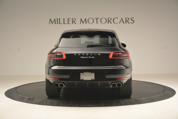 Used 2016 Porsche Macan Turbo for sale Sold at Bentley Greenwich in Greenwich CT 06830 6