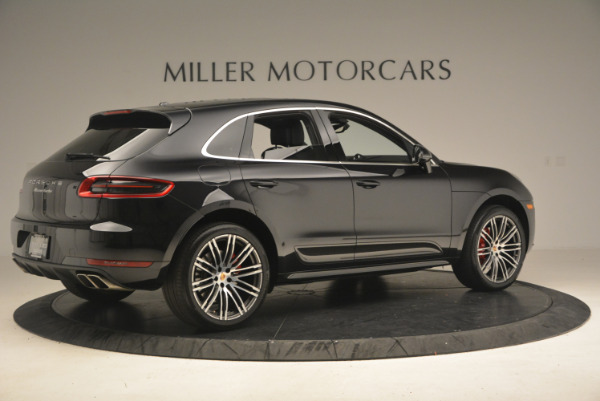 Used 2016 Porsche Macan Turbo for sale Sold at Bentley Greenwich in Greenwich CT 06830 8