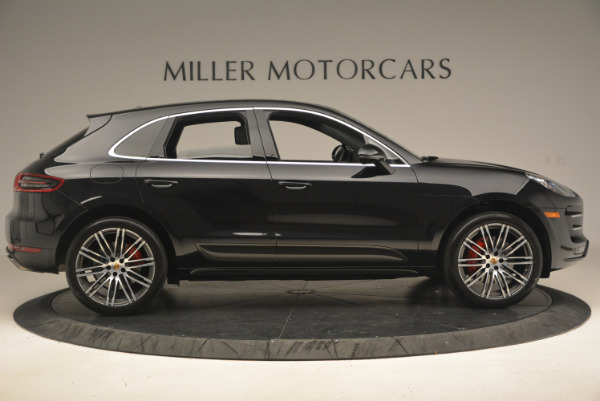 Used 2016 Porsche Macan Turbo for sale Sold at Bentley Greenwich in Greenwich CT 06830 9