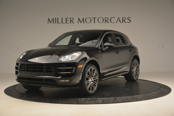 Used 2016 Porsche Macan Turbo for sale Sold at Bentley Greenwich in Greenwich CT 06830 1