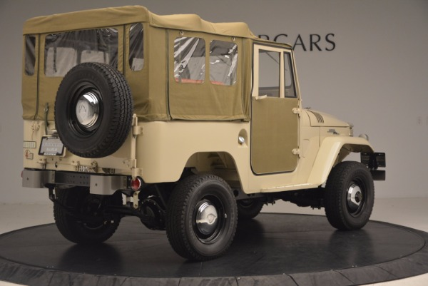 Used 1966 Toyota FJ40 Land Cruiser Land Cruiser for sale Sold at Bentley Greenwich in Greenwich CT 06830 10