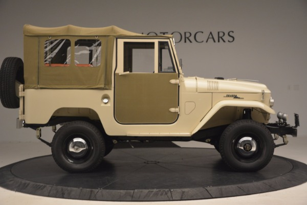 Used 1966 Toyota FJ40 Land Cruiser Land Cruiser for sale Sold at Bentley Greenwich in Greenwich CT 06830 12