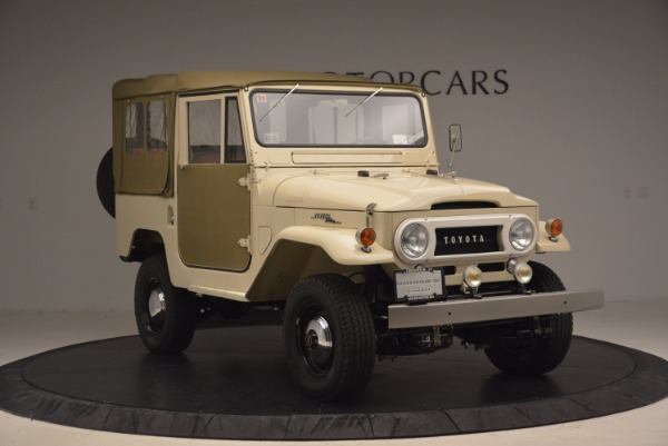 Used 1966 Toyota FJ40 Land Cruiser Land Cruiser for sale Sold at Bentley Greenwich in Greenwich CT 06830 14