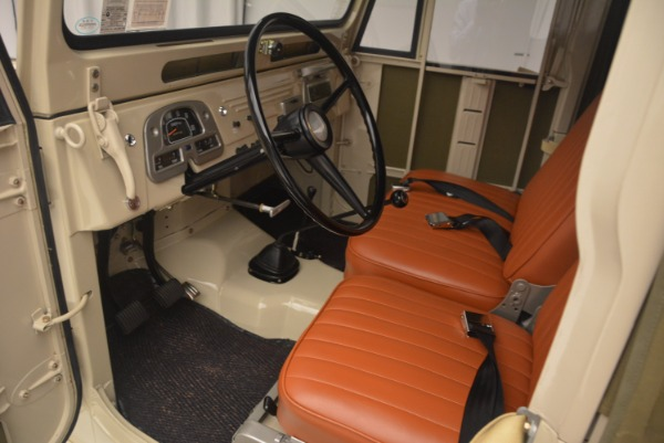 Used 1966 Toyota FJ40 Land Cruiser Land Cruiser for sale Sold at Bentley Greenwich in Greenwich CT 06830 15