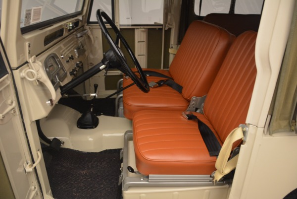 Used 1966 Toyota FJ40 Land Cruiser Land Cruiser for sale Sold at Bentley Greenwich in Greenwich CT 06830 16