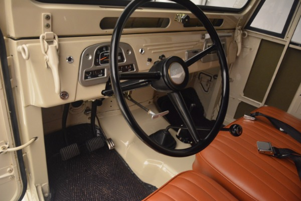 Used 1966 Toyota FJ40 Land Cruiser Land Cruiser for sale Sold at Bentley Greenwich in Greenwich CT 06830 17