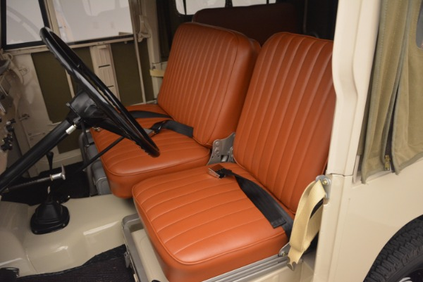 Used 1966 Toyota FJ40 Land Cruiser Land Cruiser for sale Sold at Bentley Greenwich in Greenwich CT 06830 18