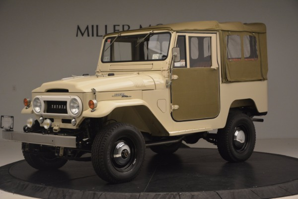 Used 1966 Toyota FJ40 Land Cruiser Land Cruiser for sale Sold at Bentley Greenwich in Greenwich CT 06830 2