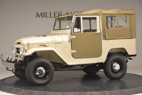 Used 1966 Toyota FJ40 Land Cruiser Land Cruiser for sale Sold at Bentley Greenwich in Greenwich CT 06830 3