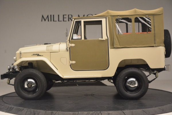Used 1966 Toyota FJ40 Land Cruiser Land Cruiser for sale Sold at Bentley Greenwich in Greenwich CT 06830 4