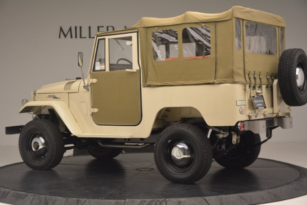 Used 1966 Toyota FJ40 Land Cruiser Land Cruiser for sale Sold at Bentley Greenwich in Greenwich CT 06830 5