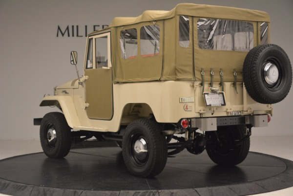 Used 1966 Toyota FJ40 Land Cruiser Land Cruiser for sale Sold at Bentley Greenwich in Greenwich CT 06830 6
