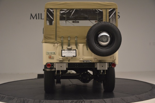 Used 1966 Toyota FJ40 Land Cruiser Land Cruiser for sale Sold at Bentley Greenwich in Greenwich CT 06830 7