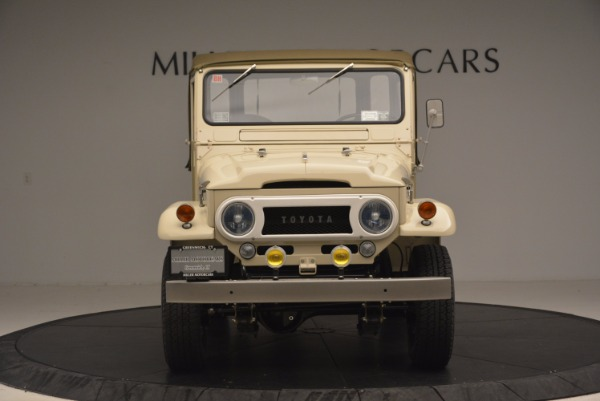 Used 1966 Toyota FJ40 Land Cruiser Land Cruiser for sale Sold at Bentley Greenwich in Greenwich CT 06830 8