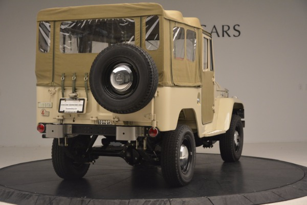 Used 1966 Toyota FJ40 Land Cruiser Land Cruiser for sale Sold at Bentley Greenwich in Greenwich CT 06830 9