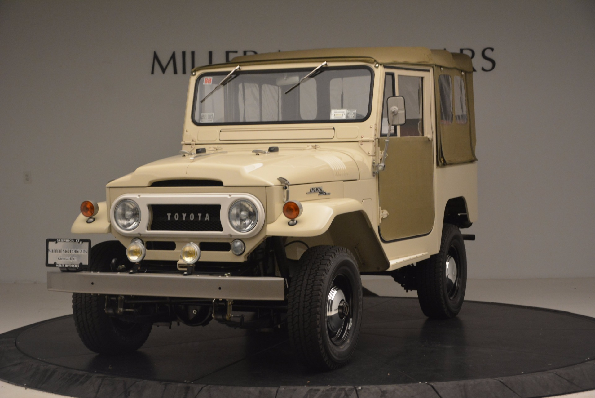 Used 1966 Toyota FJ40 Land Cruiser Land Cruiser for sale Sold at Bentley Greenwich in Greenwich CT 06830 1