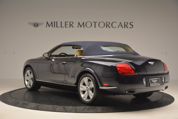 Used 2007 Bentley Continental GTC for sale Sold at Bentley Greenwich in Greenwich CT 06830 18