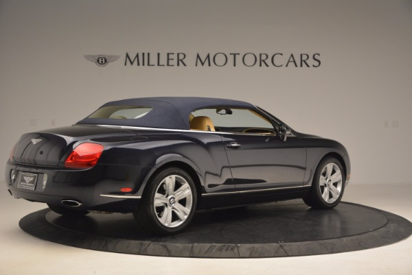 Used 2007 Bentley Continental GTC for sale Sold at Bentley Greenwich in Greenwich CT 06830 22