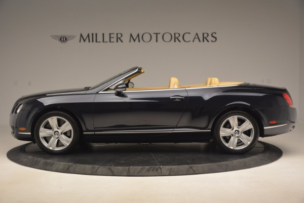 Used 2007 Bentley Continental GTC for sale Sold at Bentley Greenwich in Greenwich CT 06830 3
