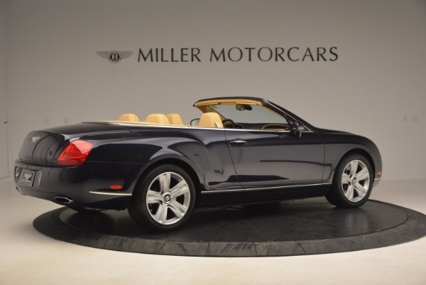 Used 2007 Bentley Continental GTC for sale Sold at Bentley Greenwich in Greenwich CT 06830 8