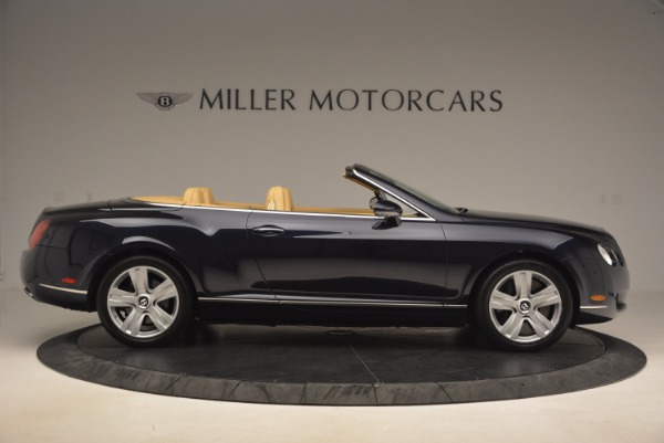 Used 2007 Bentley Continental GTC for sale Sold at Bentley Greenwich in Greenwich CT 06830 9