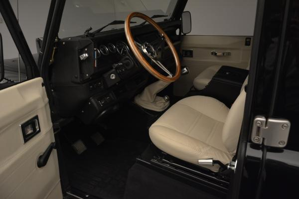 Used 1985 LAND ROVER Defender 110 for sale Sold at Bentley Greenwich in Greenwich CT 06830 12
