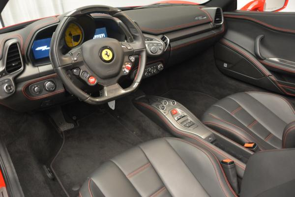 Used 2014 Ferrari 458 Spider for sale Sold at Bentley Greenwich in Greenwich CT 06830 25