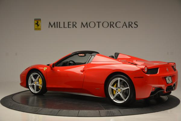 Used 2014 Ferrari 458 Spider for sale Sold at Bentley Greenwich in Greenwich CT 06830 4